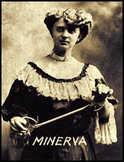Minerva female magician