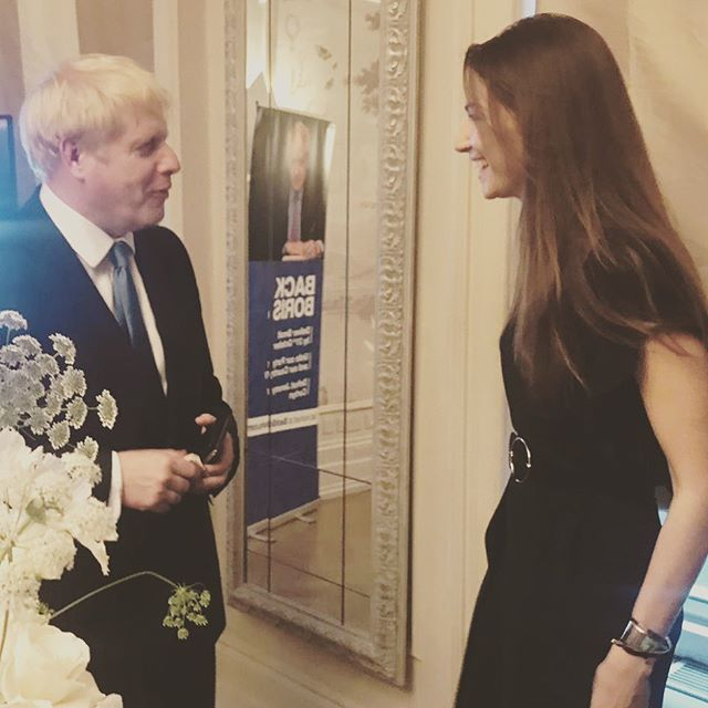 A pleasure to perform for @borisjohnsonmp this evening, now go work your magic Mr Prime Minister.. . Mega thank you to @benwelliot for the opportunity