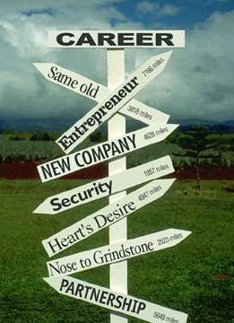 Where is your career change map guiding you?