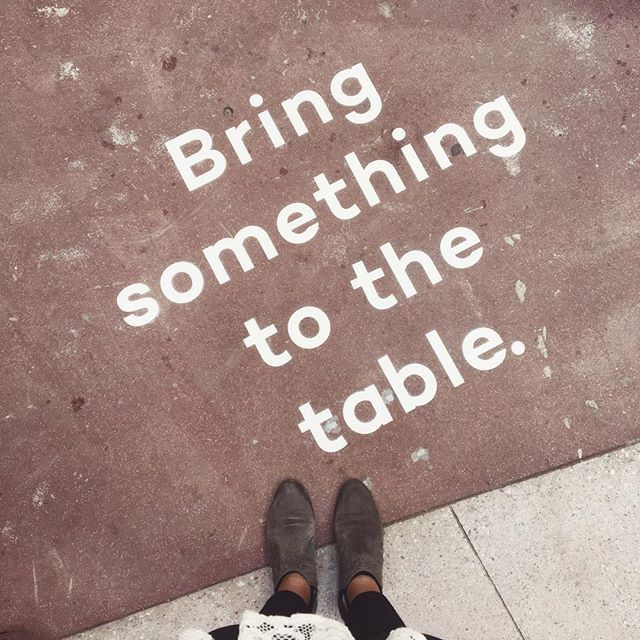 Spending my day learning from some of the best @potluckhospitality conference! @carlarubennyc @mooncanyon @ohbabushka @_shiramisu @ingoodcompanypr and SO many more! A really great excuse for being out of the @aisleplanner office, if ya ask me 😎 #bringsomethingtothetable #potluckhospitality