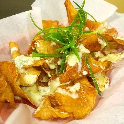 Michelle's (@_weallgottaeat) Blue Cheese Chips @ Kesh Restaurant