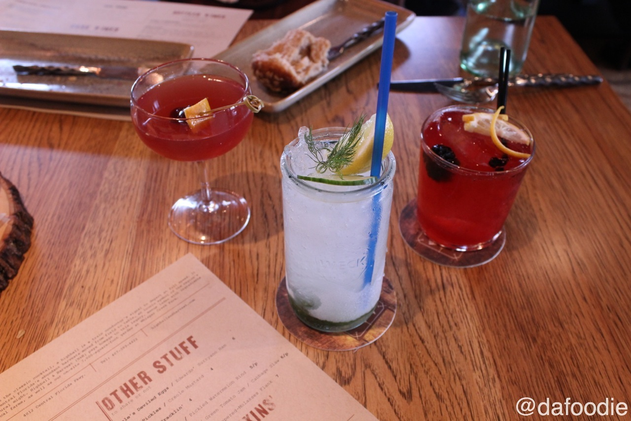 Cocktails at Highball & Harvest