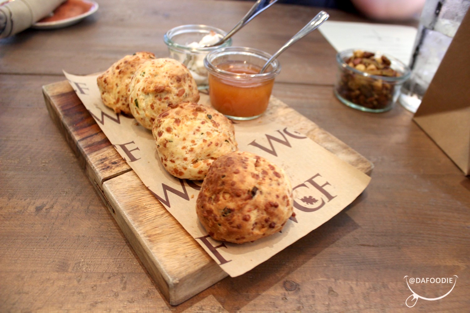 Chive Biscuits