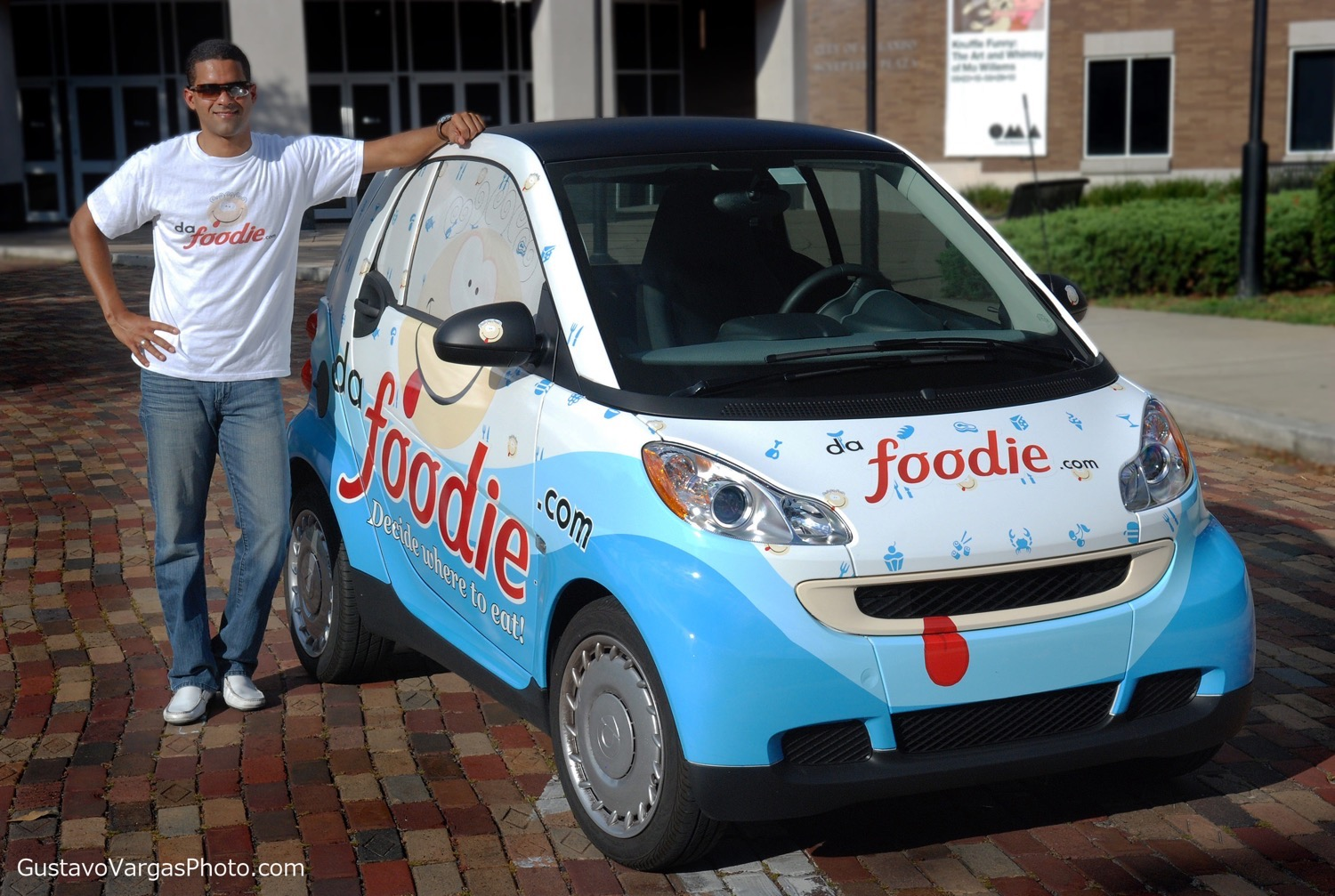 Dafoodie Car at the Orlando Museum of Art. Photo by Gustavo Vargas Photography