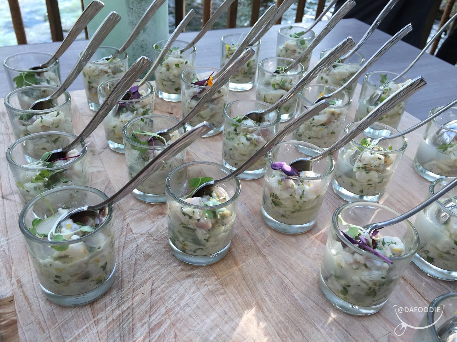 Tasty ceviche from Gary's Seafood & Specialties Table.