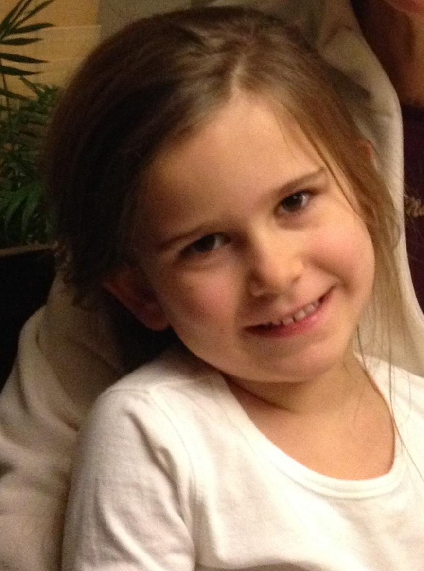 Granddaughter Brynn, cute as always.