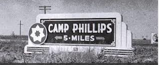 Camp Phillips near Salina, Kansas, in 1943