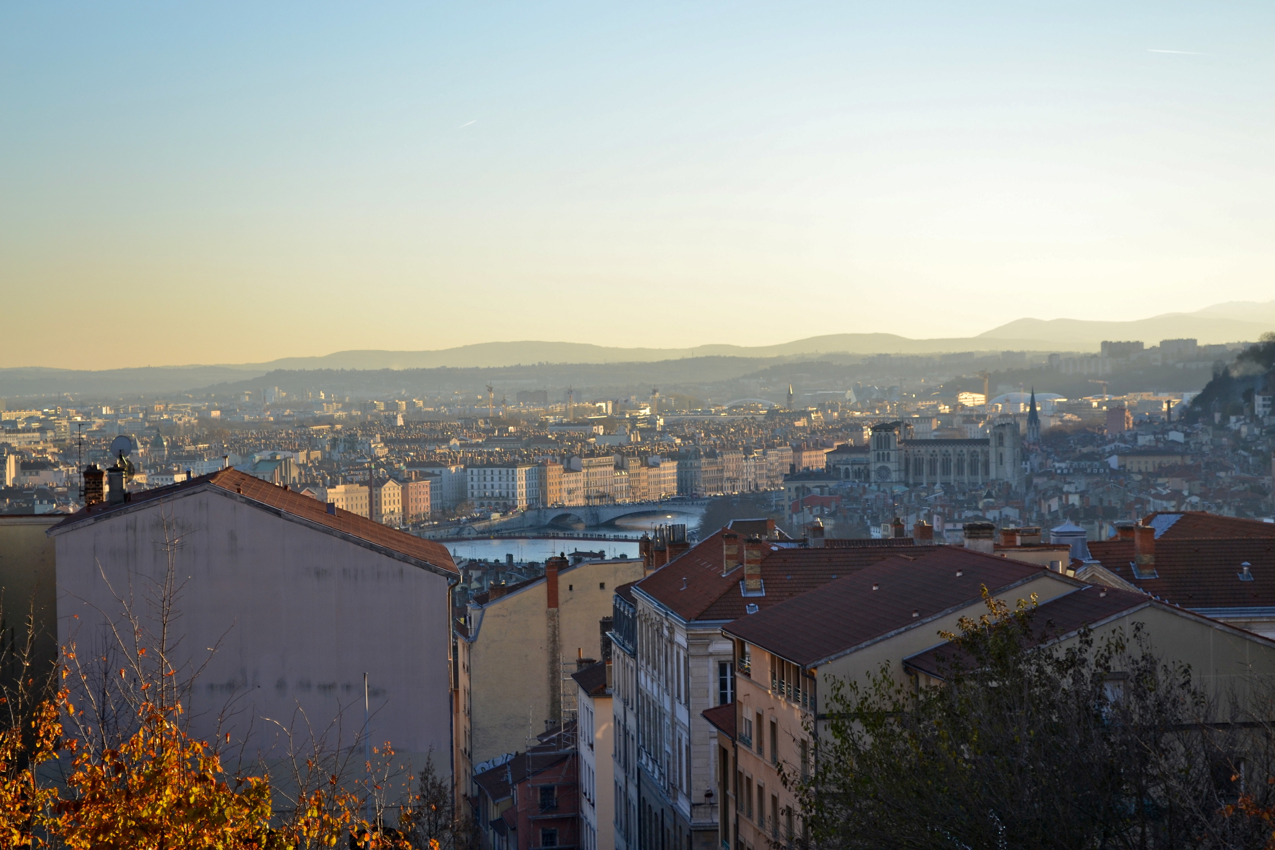 The view from Croix-Rousse