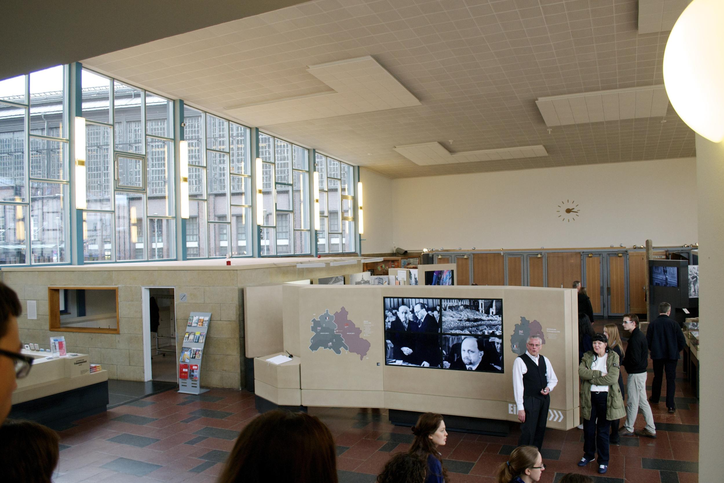 Inside the Tränenpalast Museum