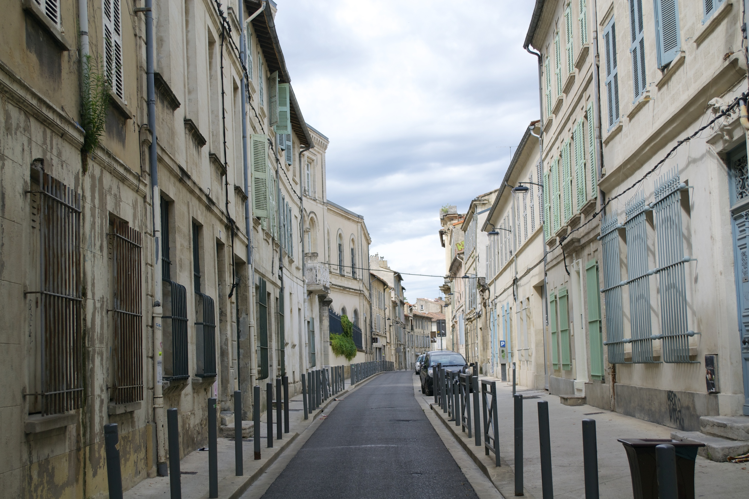 The streets of Avignon.