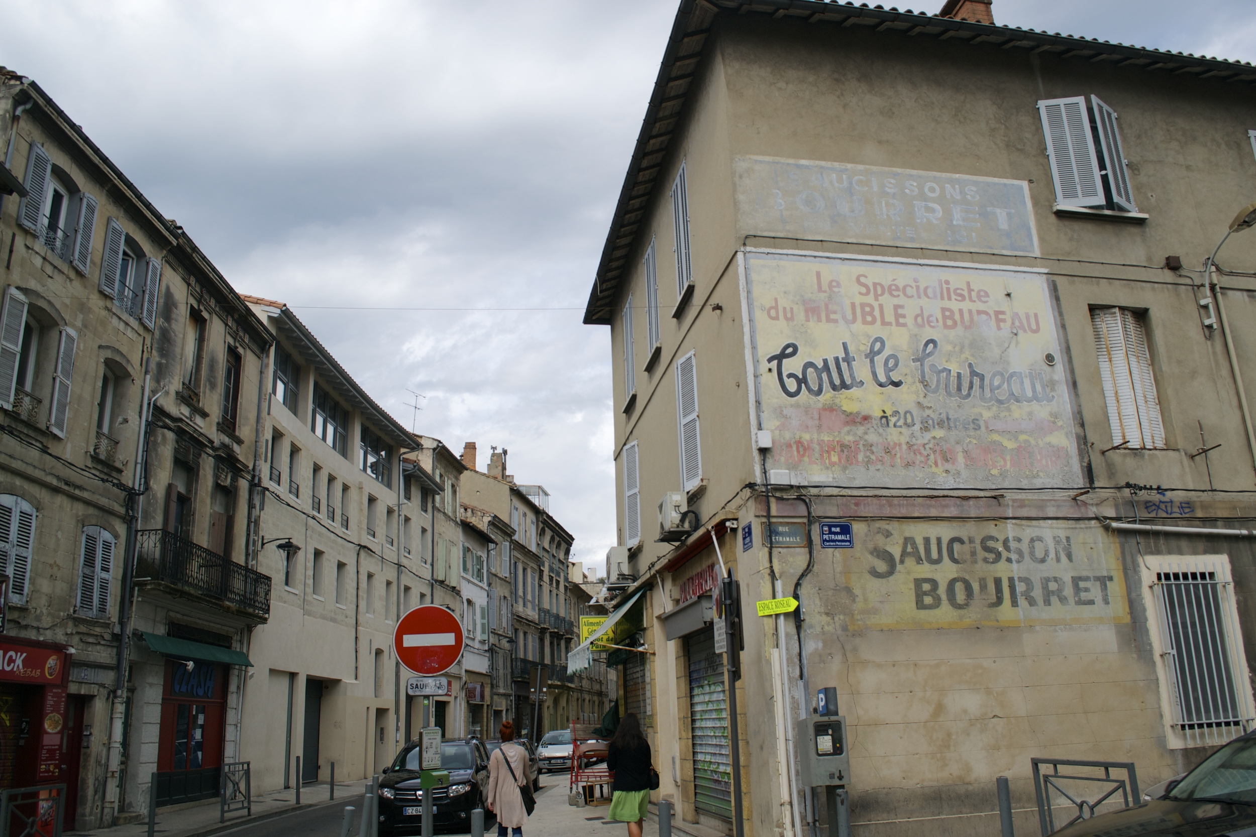 Another look at the streets of Avignon.