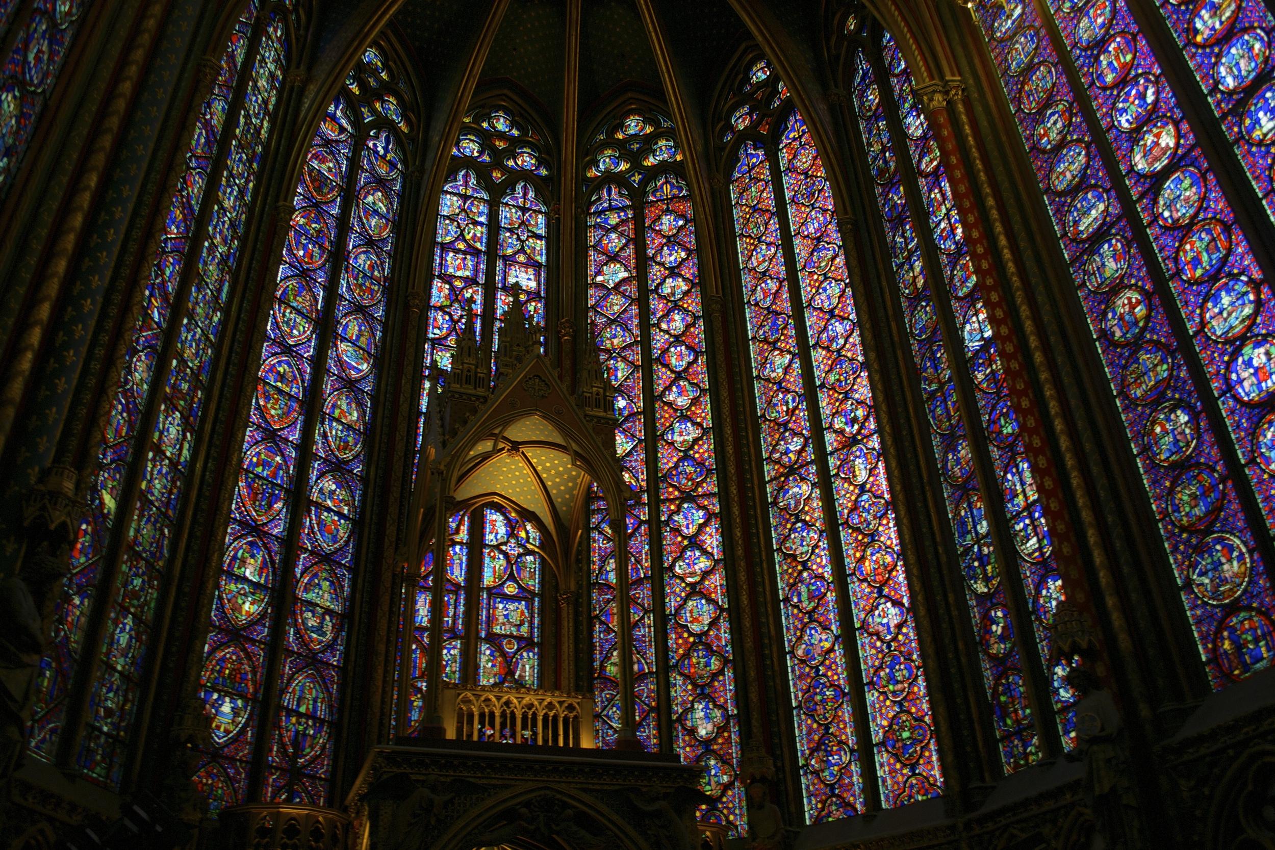 Inside Sainte-Chapelle