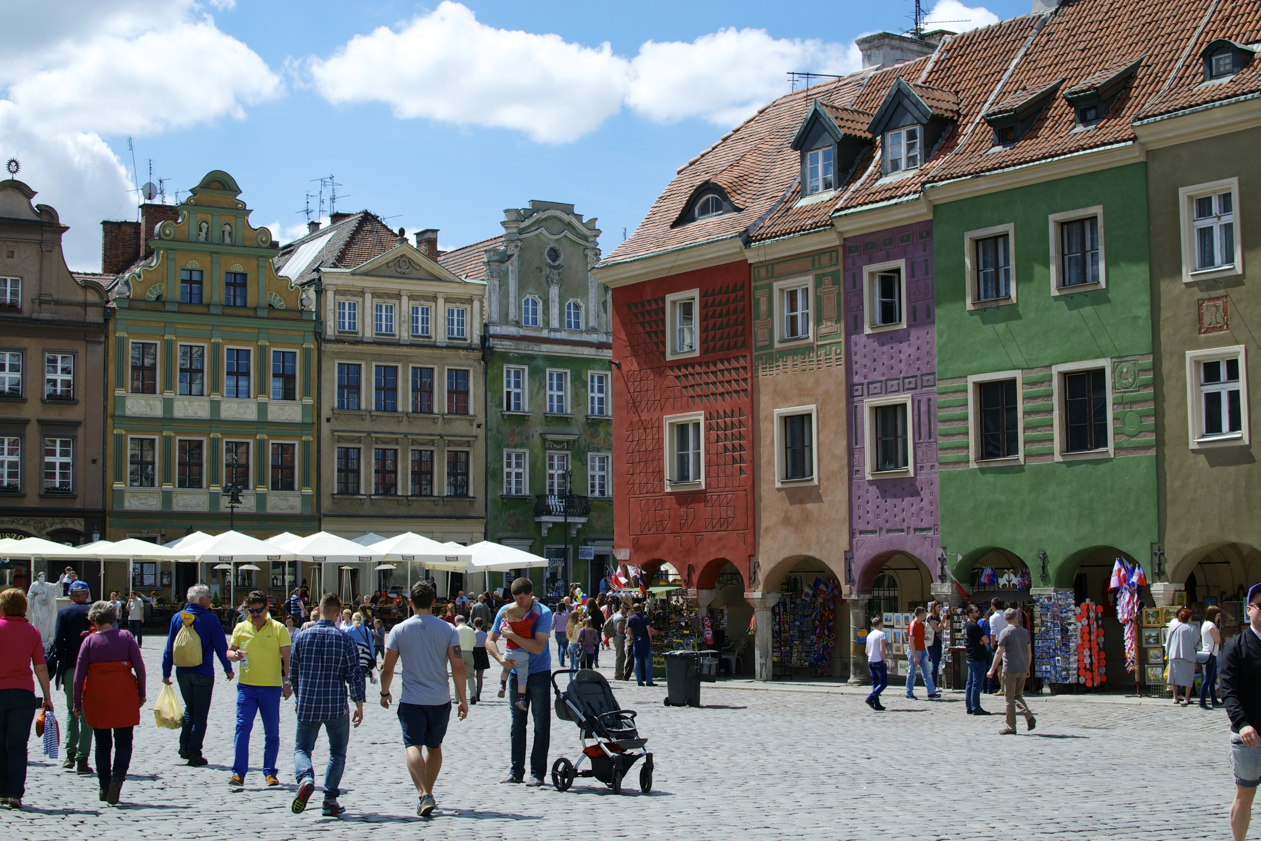 Poznan's Old Town Square.