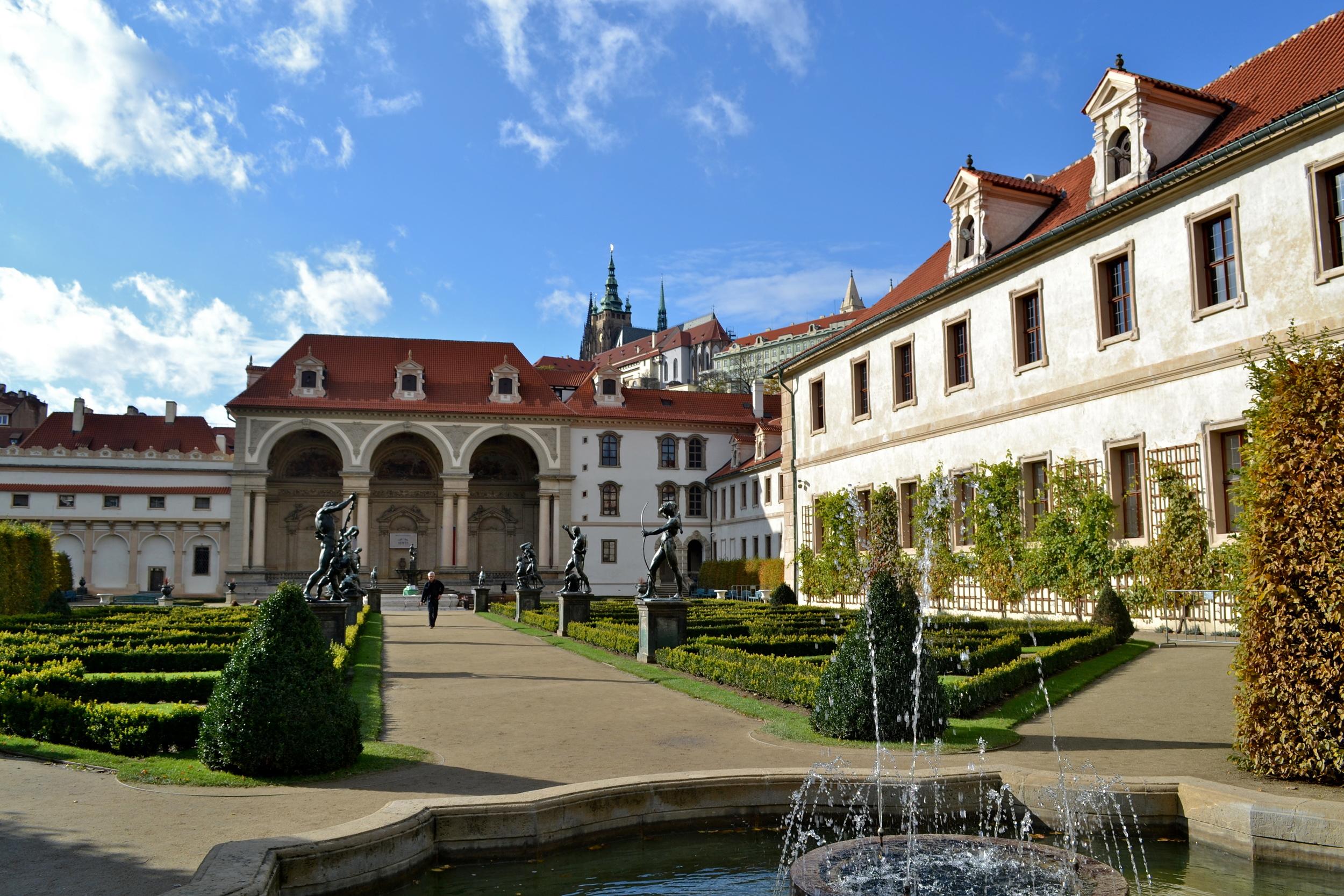 Garden in Prague