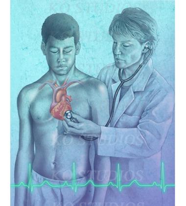 Cardiovascular exam