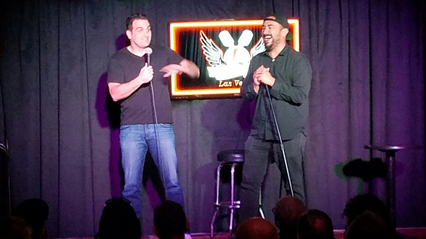 Bret Ersnt & Freddy Correa, LA Comedy Club, Las Vegas, NV