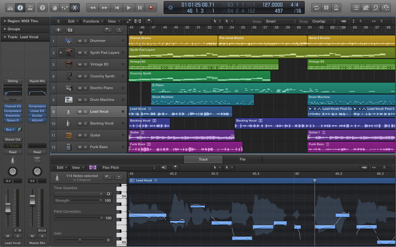 FIND OUT MORE ABOUT  LOGIC PRO X