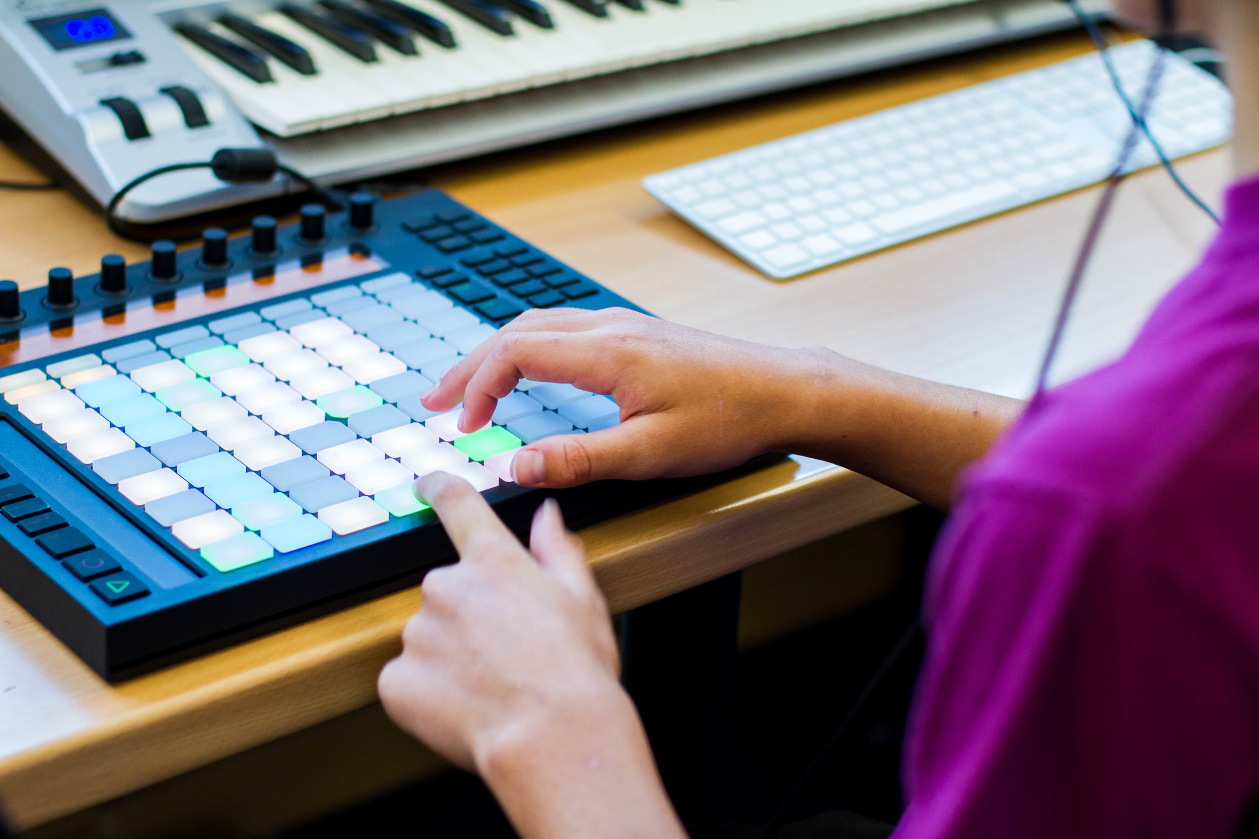 Music Producer 101 Abelton Push