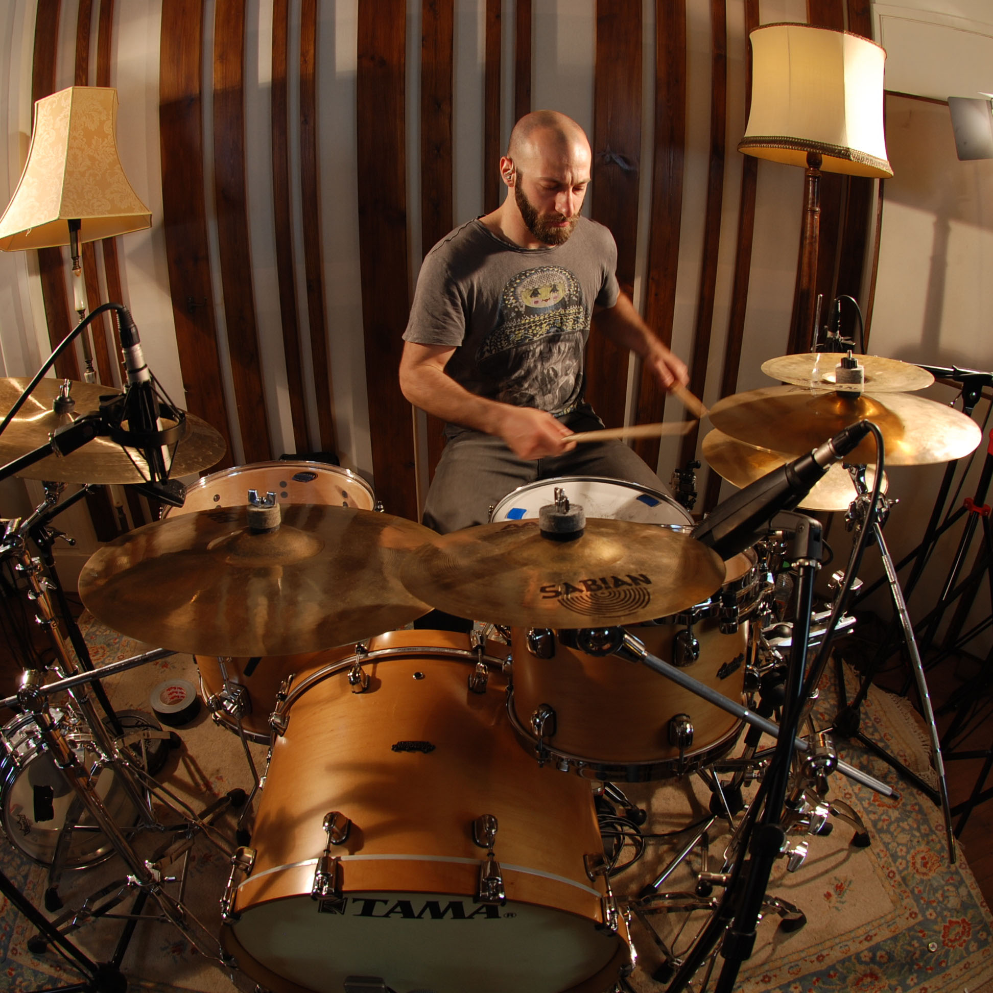 NICK SCHLESINGER    Drums