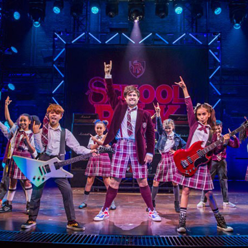 SELMA HANSEN - SCHOOL OF ROCK   Selma Hansen was cast in Andew Lloyd Webber's first West End production of School Of Rock the musical. Selma starred as bass player Katie in the School Of Rock band and won an Olivier Award for Outstanding Achievement In Music.