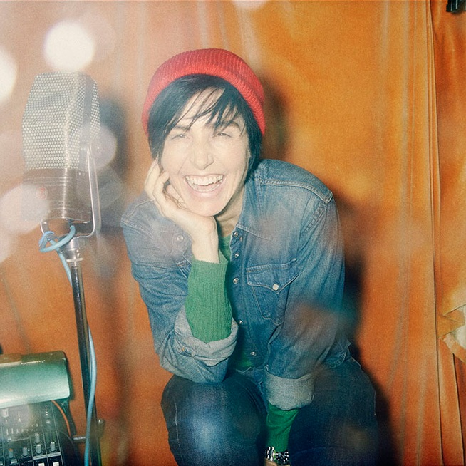 "SHARLEEN SPITERI   ""I'm really proud to be a patron of The Rhythm Studio Foundation, making music accessible to young people from all different backgrounds . It's a pleasure to see how the studio builds confidence and self-esteem, also giving young women options in production and programming which is so important to find where their passions lie."""