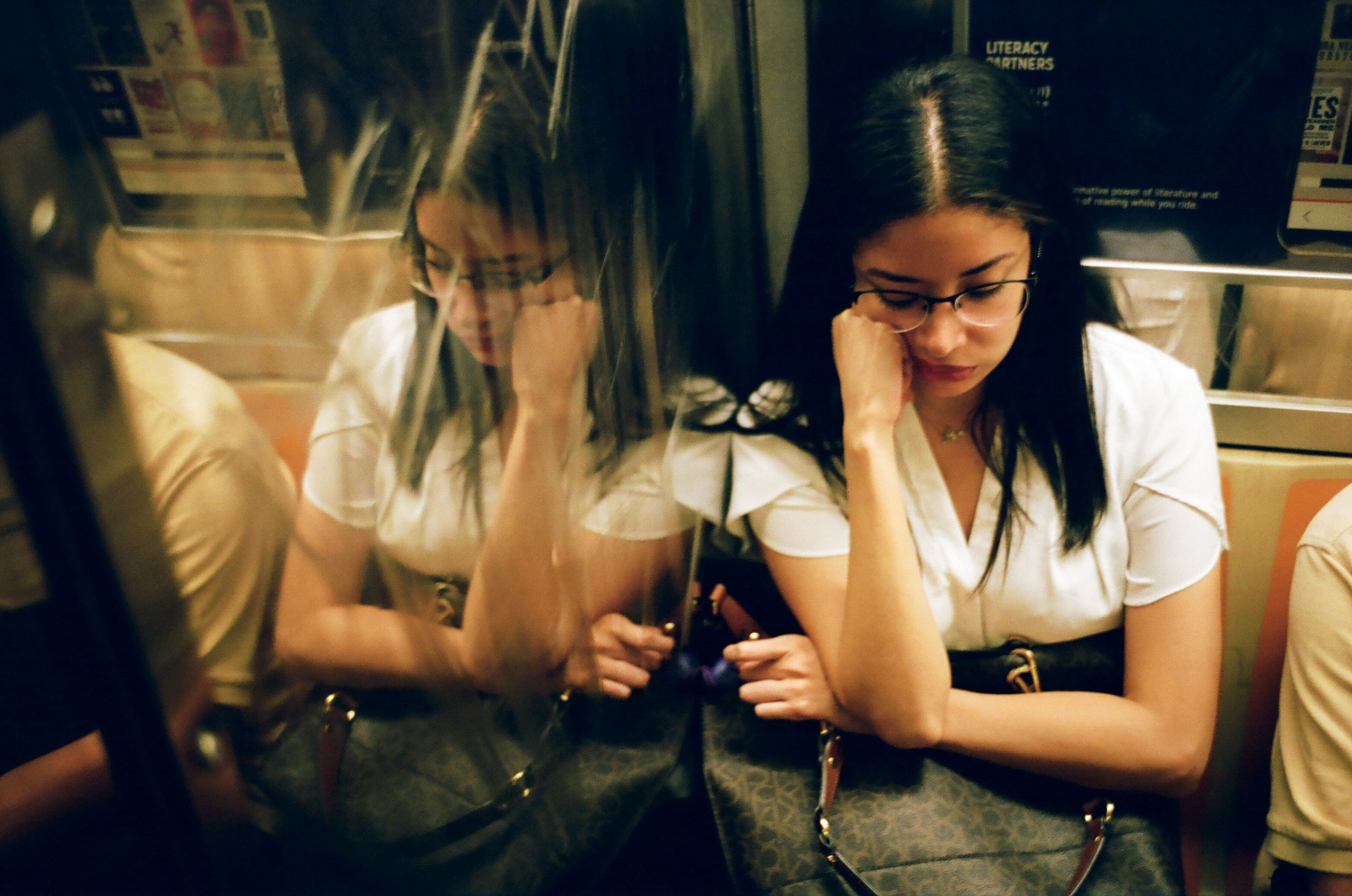 Woman Slepping in Subway.jpg
