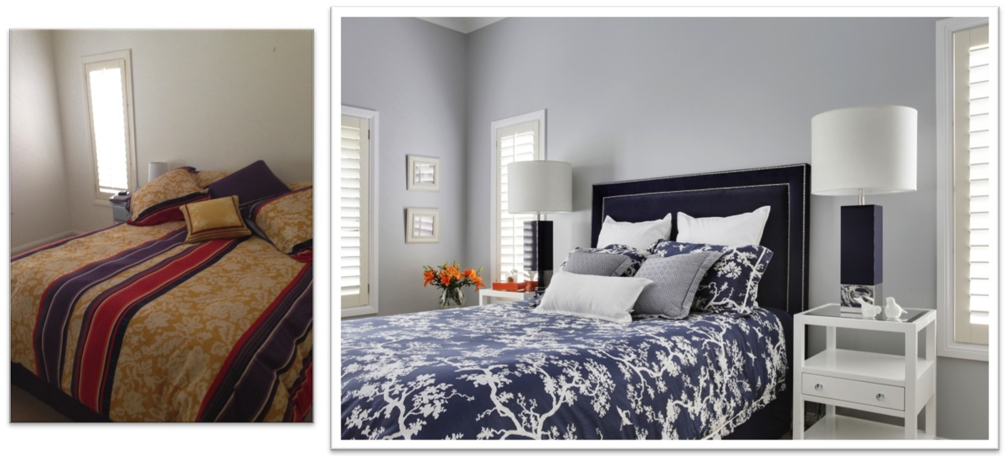 Master Bedroom - Before and After