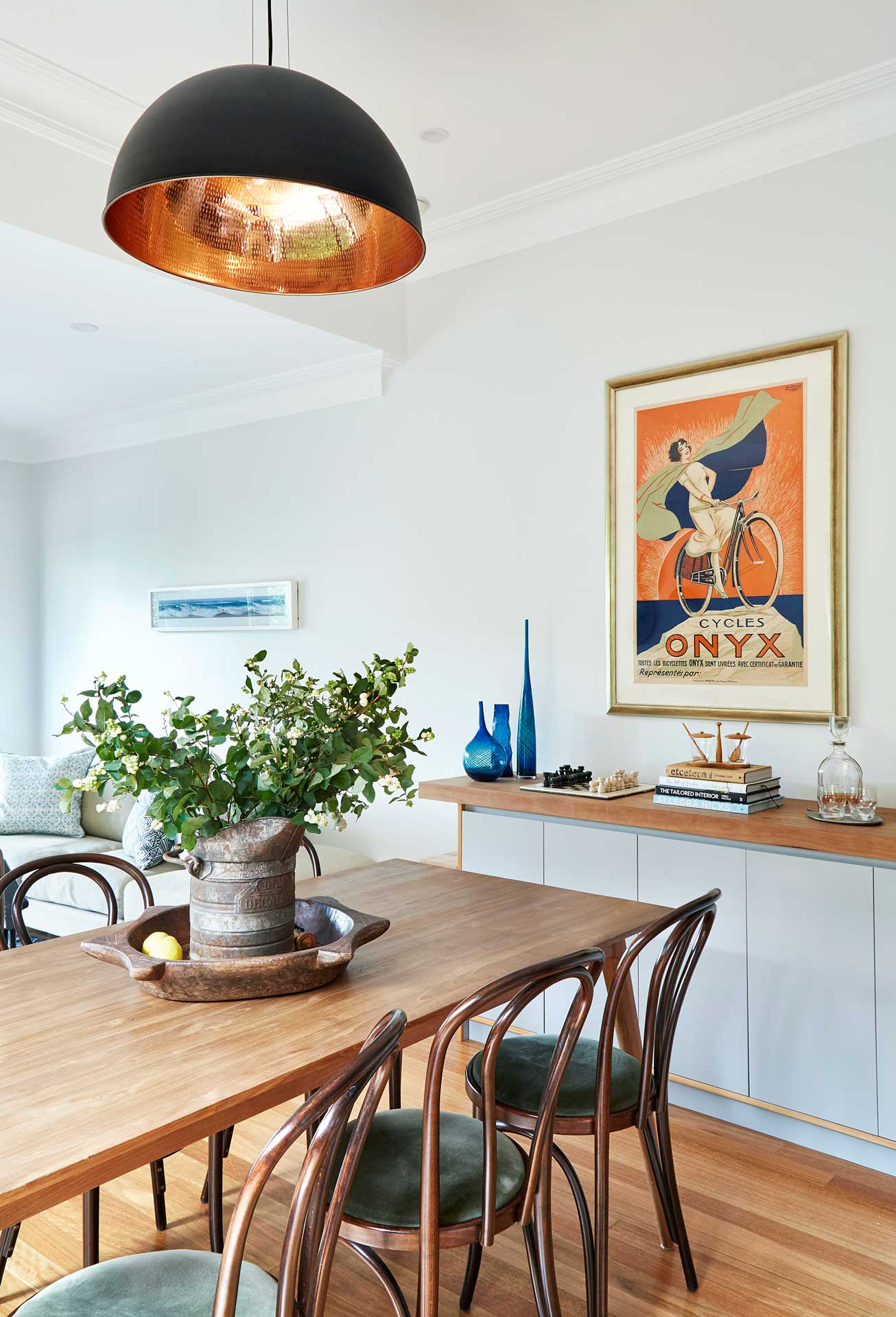 Dining Room Randwick House - Carmen Parker Styling