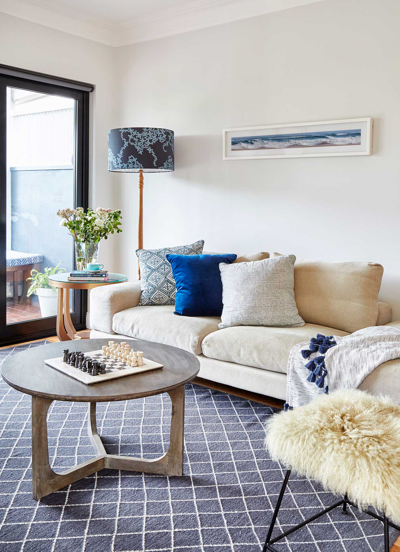Living Room Randwick House - Carmen Parker Styling
