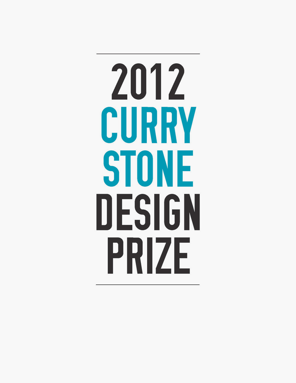 Book Design, Curry Stone Design Prize