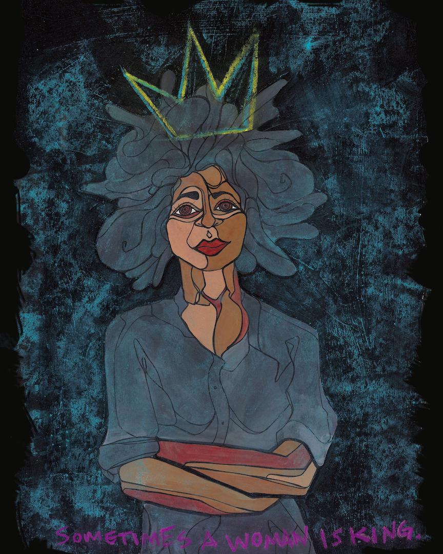 Sometimes a Woman is King_16x20_Sam Kirk_2016.jpg