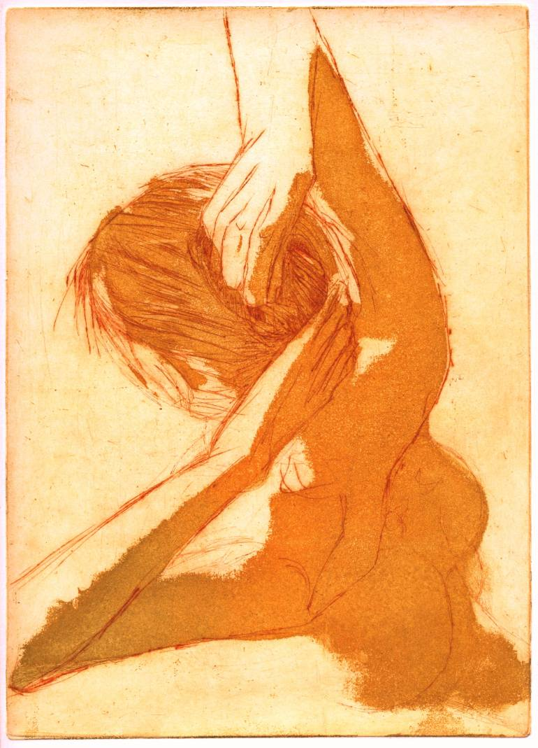 http://www.saatchiart.com/art/Printmaking-Haar-doen-Doing-her-hair/283166/133882/view