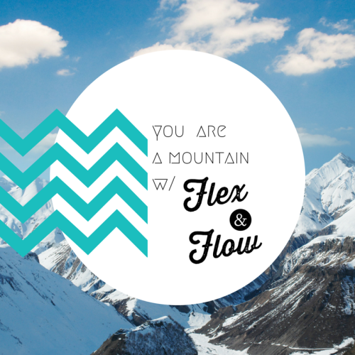 Prose on Flex & Flow Yoga // March 2016