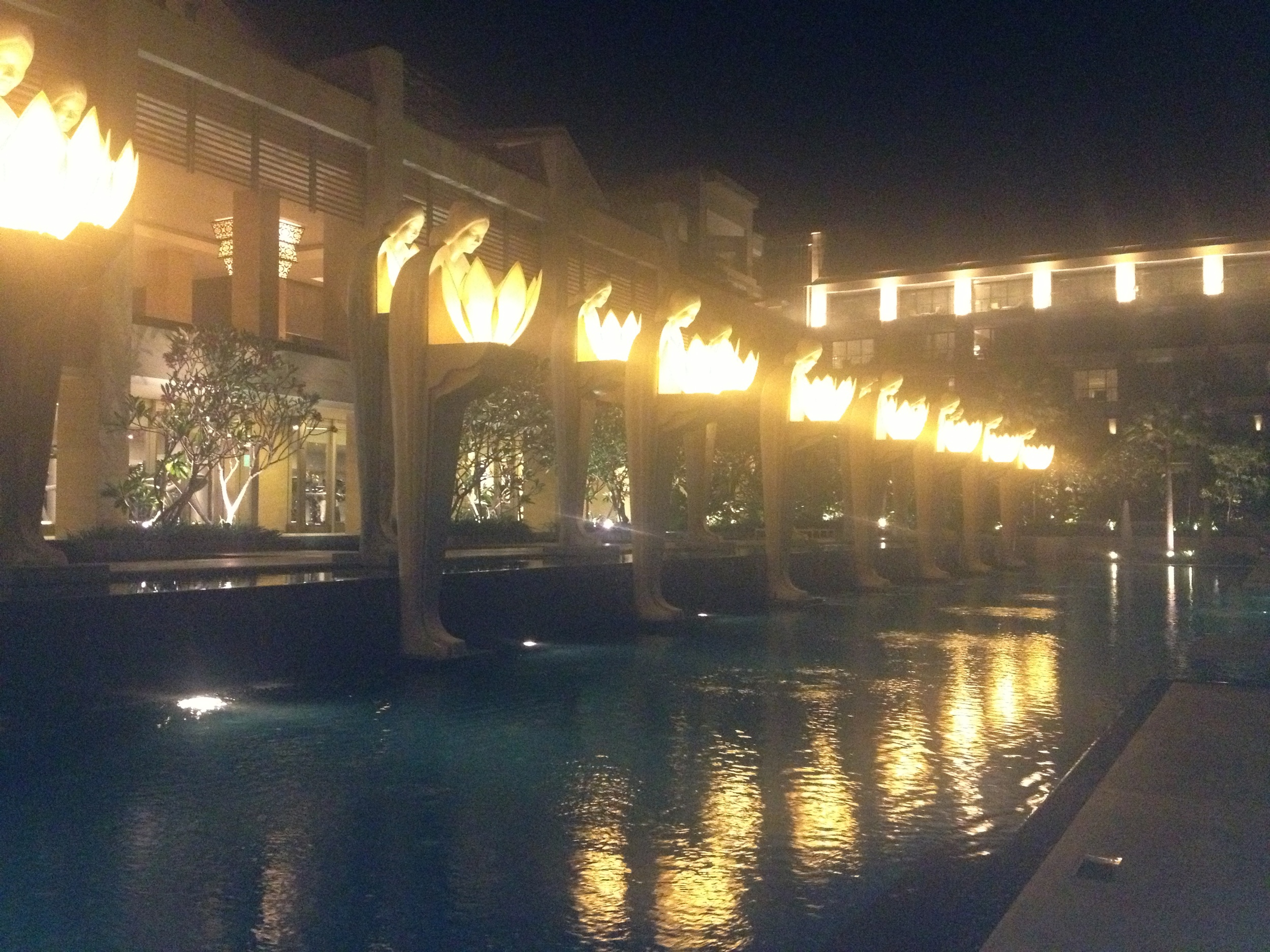 Our second hotel - The Mulia.