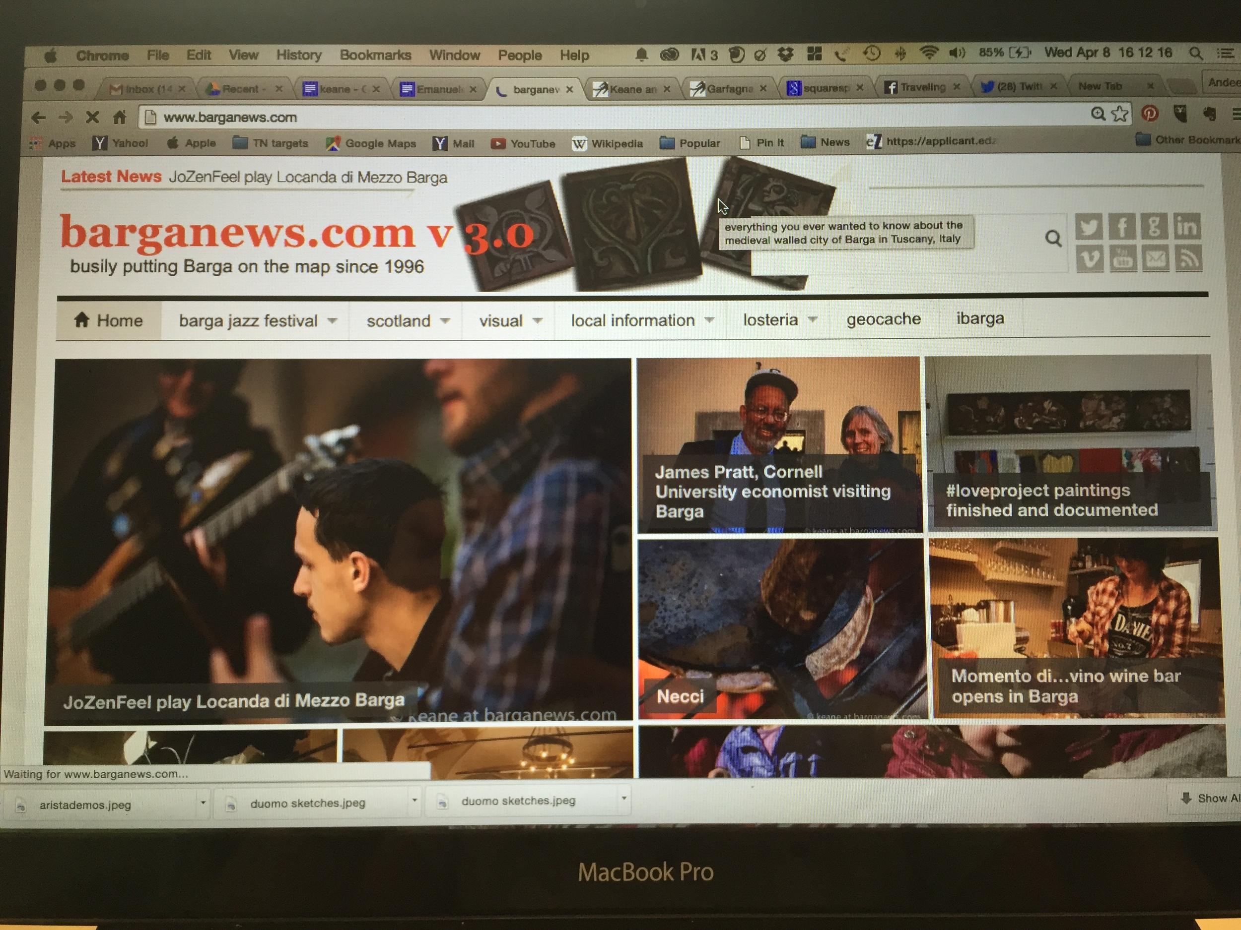 The face of barganews.com