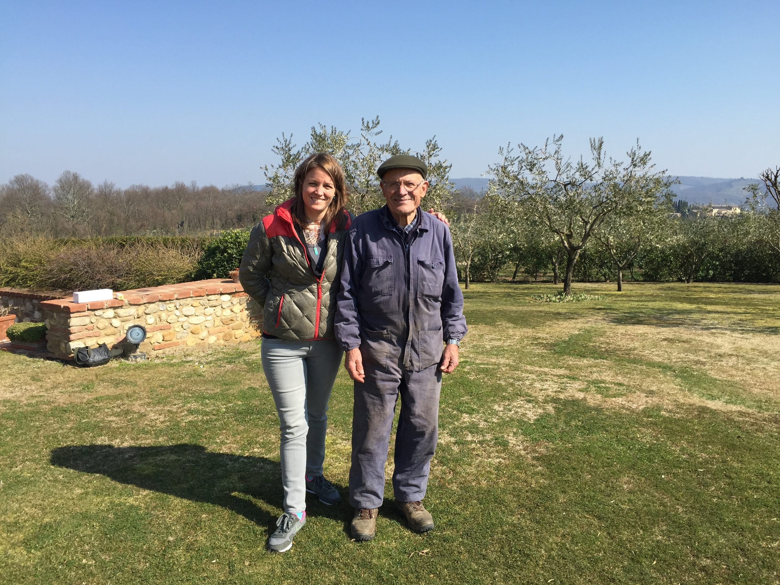 Franco, one of Pretto's prized winemakers.
