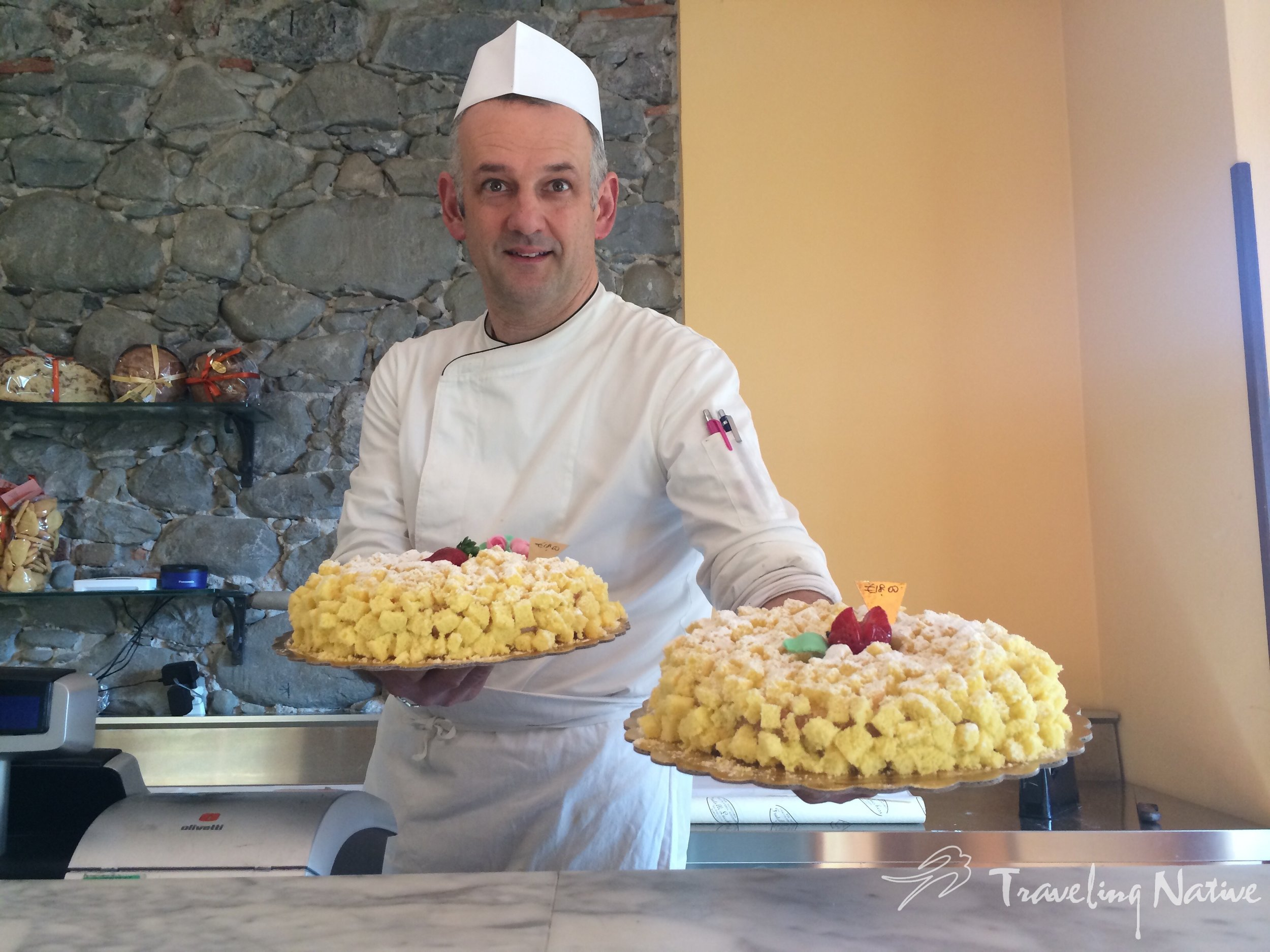 Paolo Lucchesi of Pasticceria Fratelli Lucchesi #sweets #baking #bar #pastrychef #barga