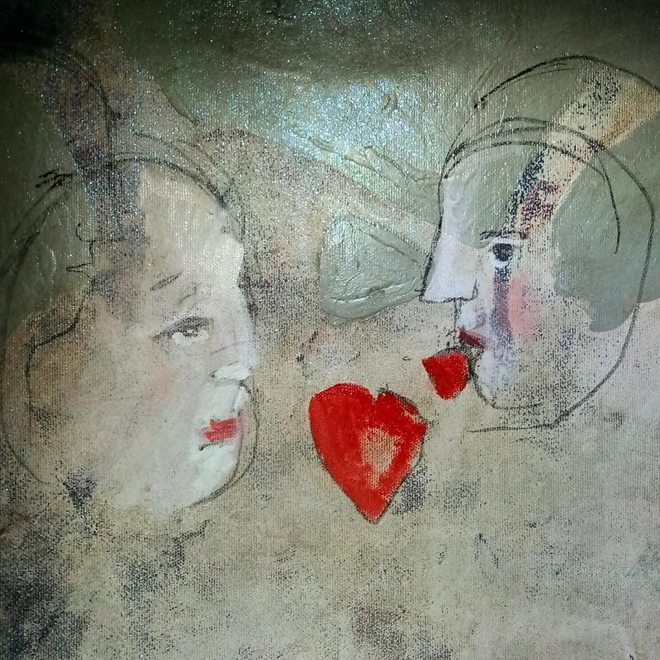 Painting by Giorgia Madiai Fuchs