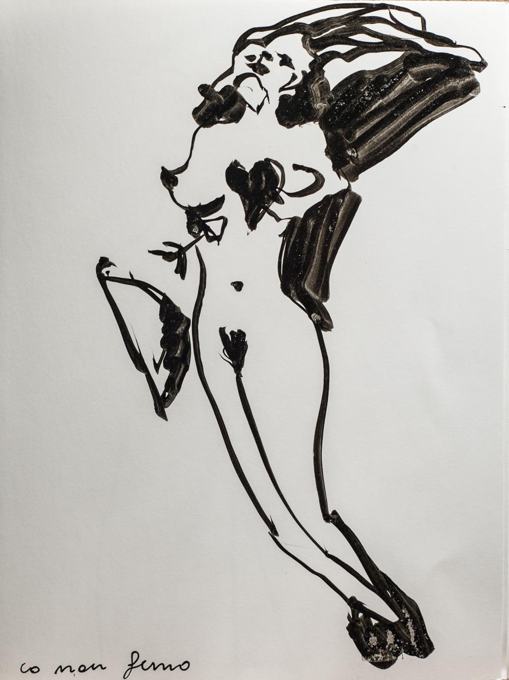 Translucent Sketch by   Giorgia Madiai Fuchs