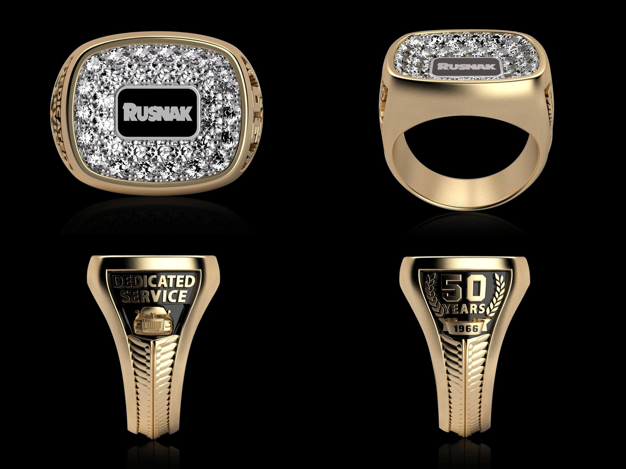 The Rusnak Diamond Ring