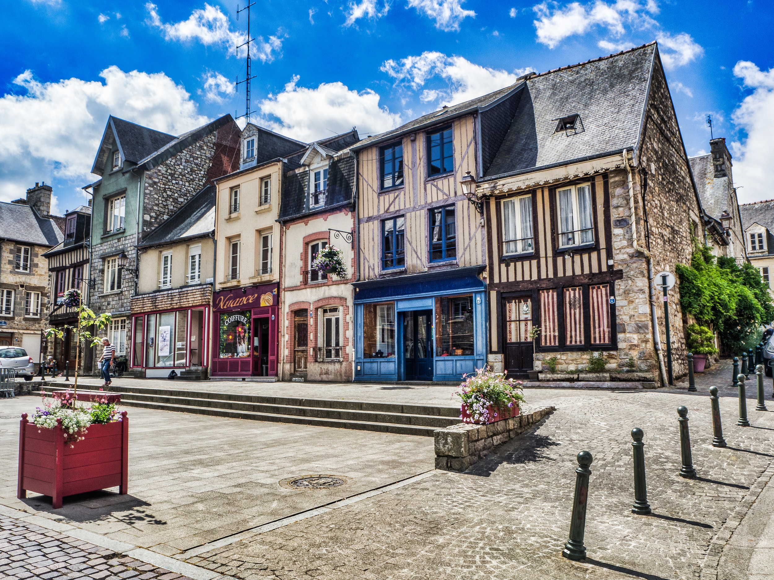 Domfront, France -
