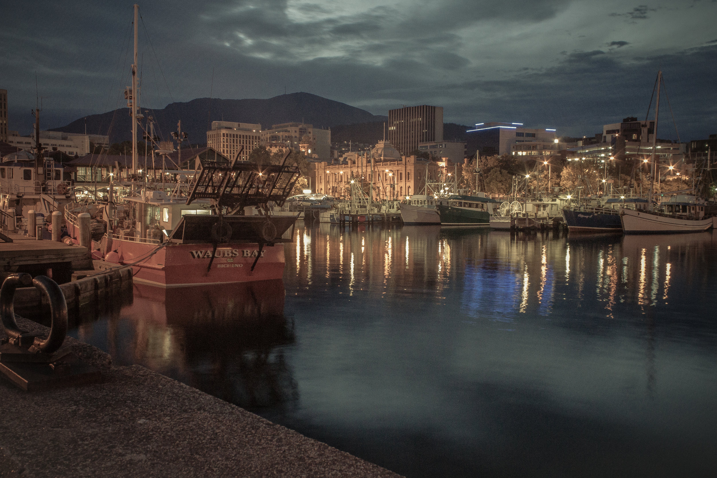 Hobart Harbour - Dingy preset.jpg