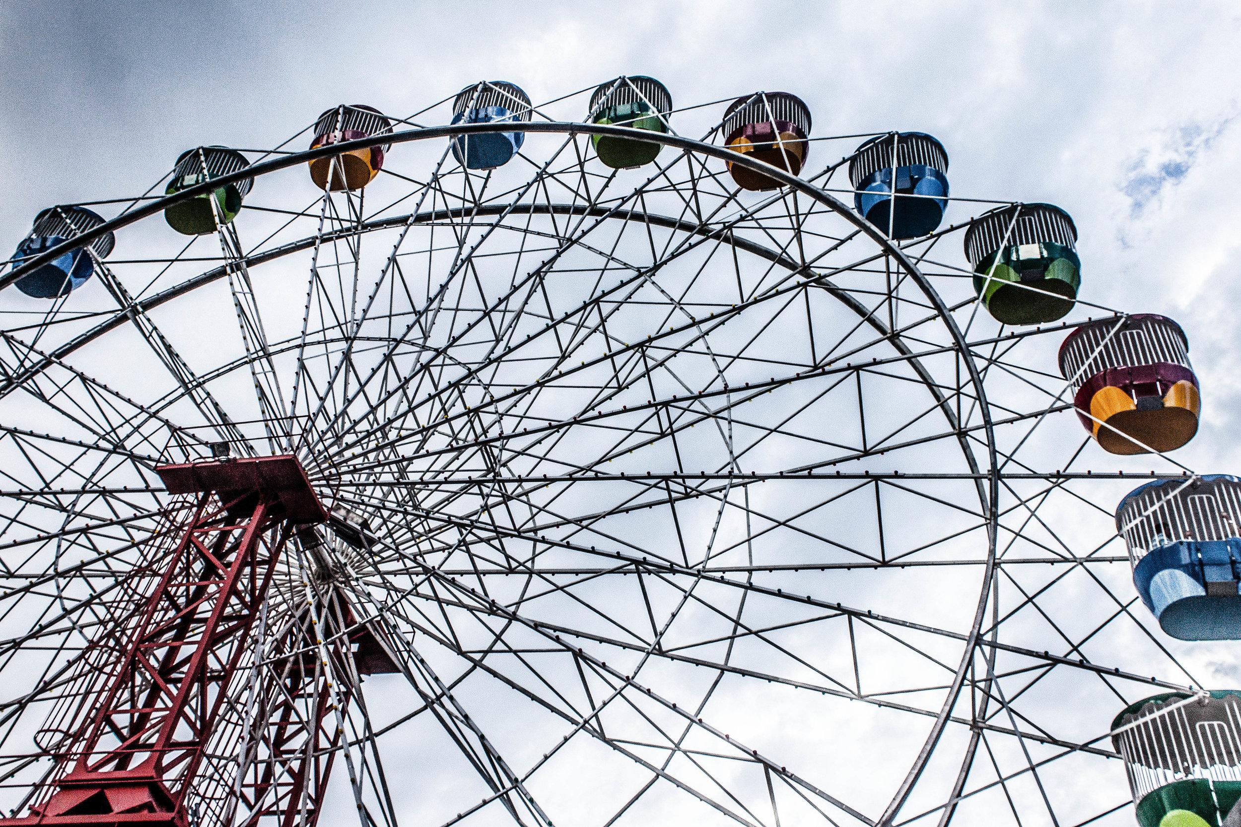 Sydney Luna Park ferris wheel - gritty heavy.jpg