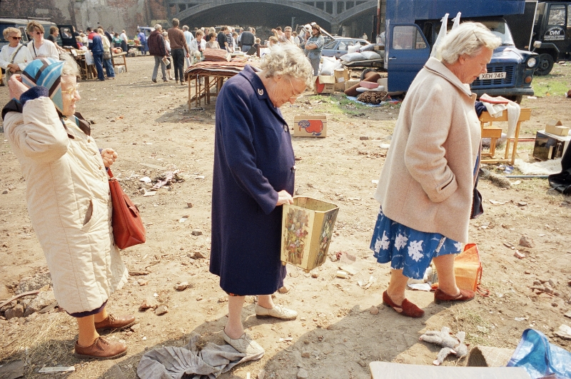 Tom Wood, Three Wise Women, 1989.