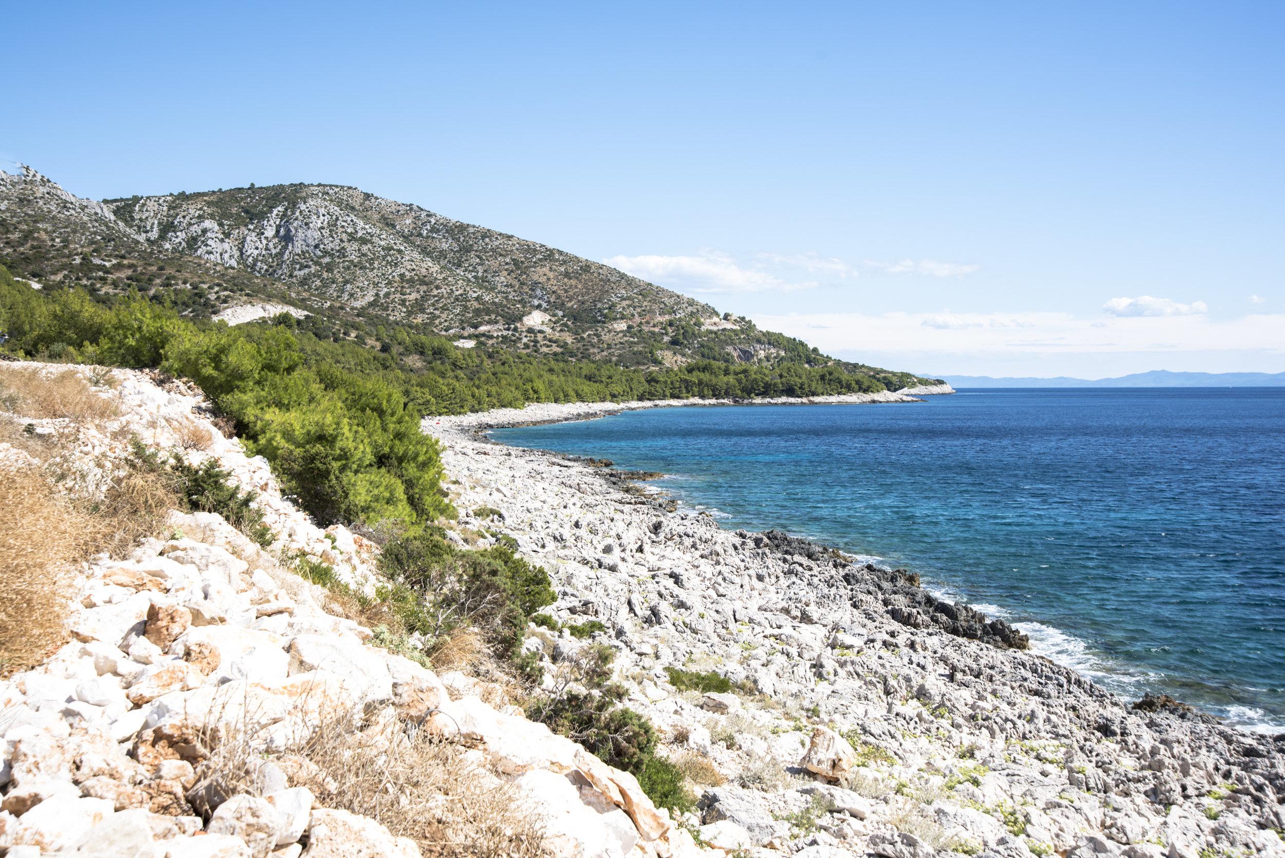 Bucht bei Milna (Insel Hvar)