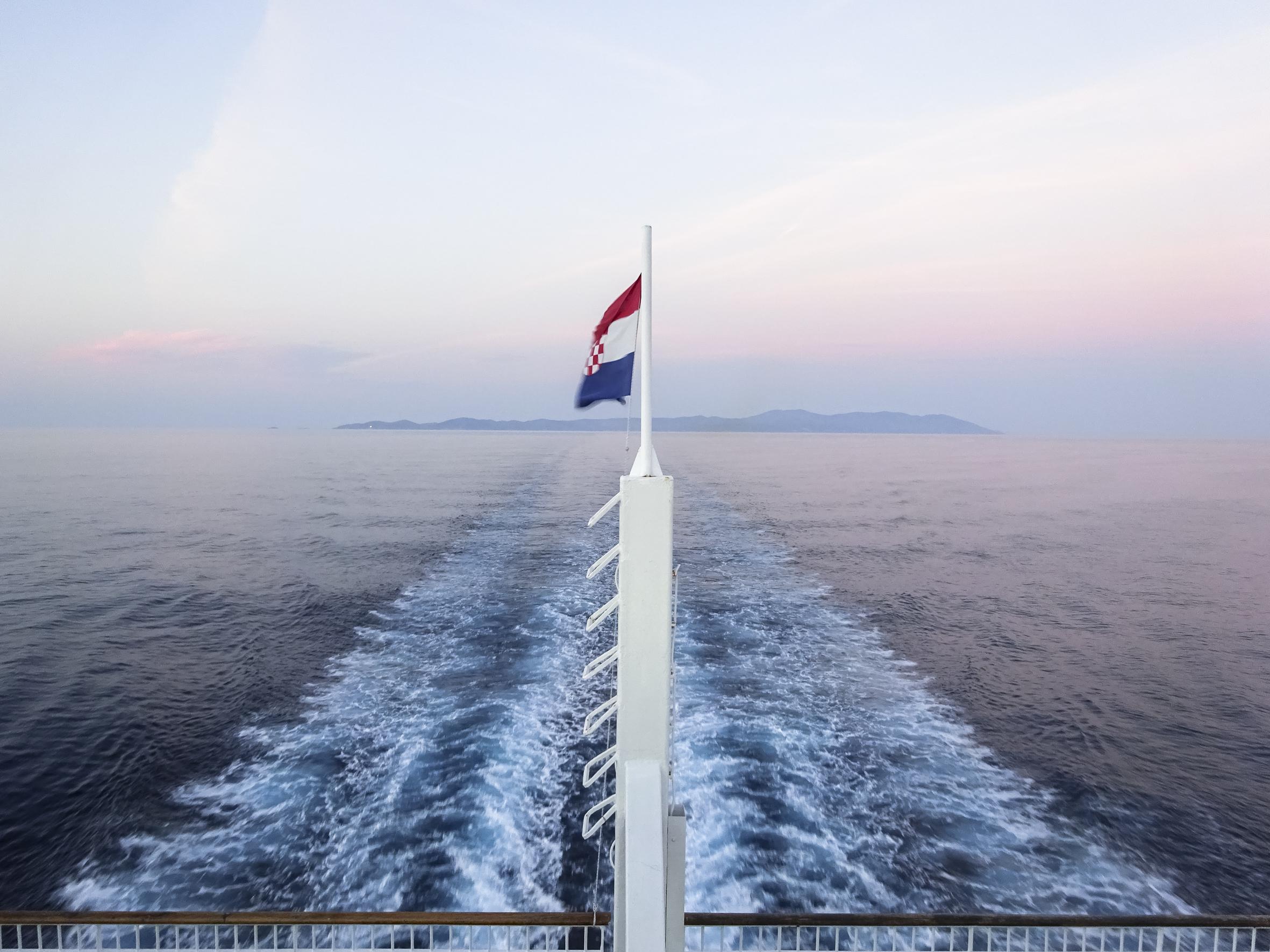 Fähre von Vis nach Split