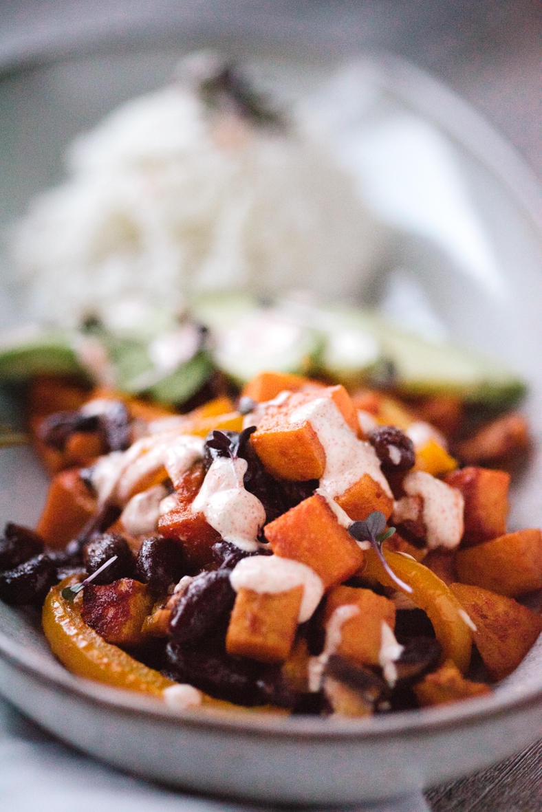 Sweet Potato & Avocado Bowl