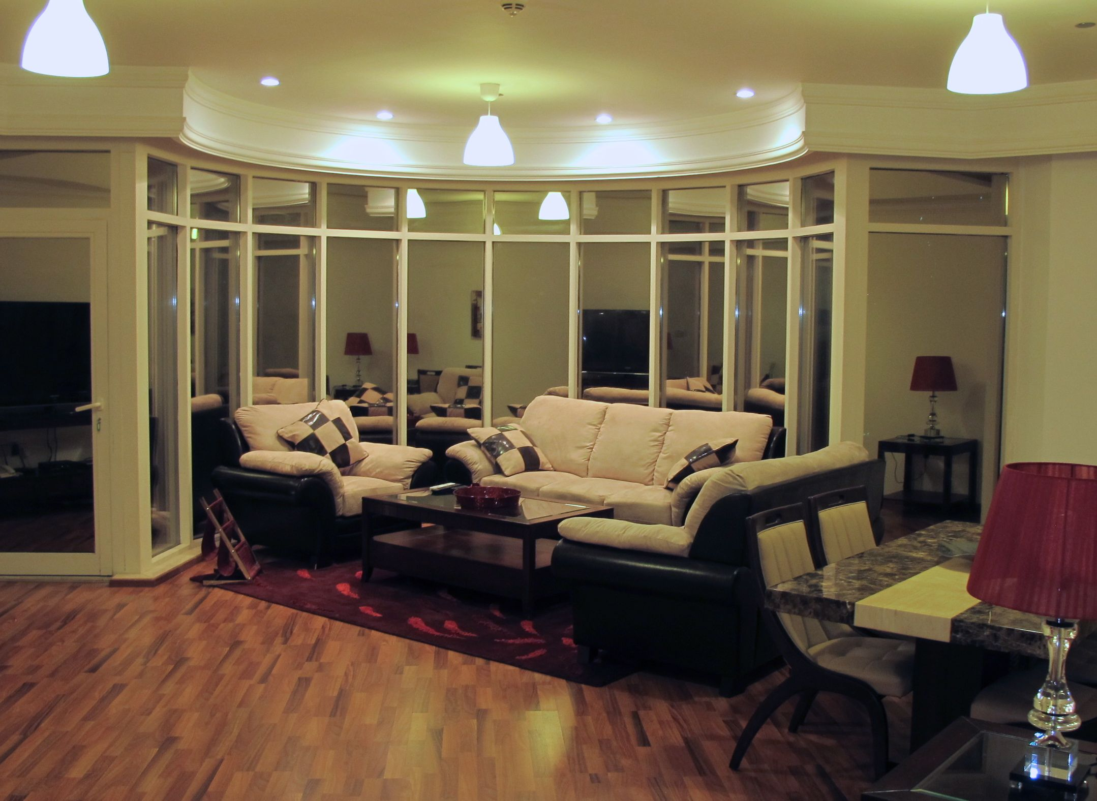 Snazzy living room!