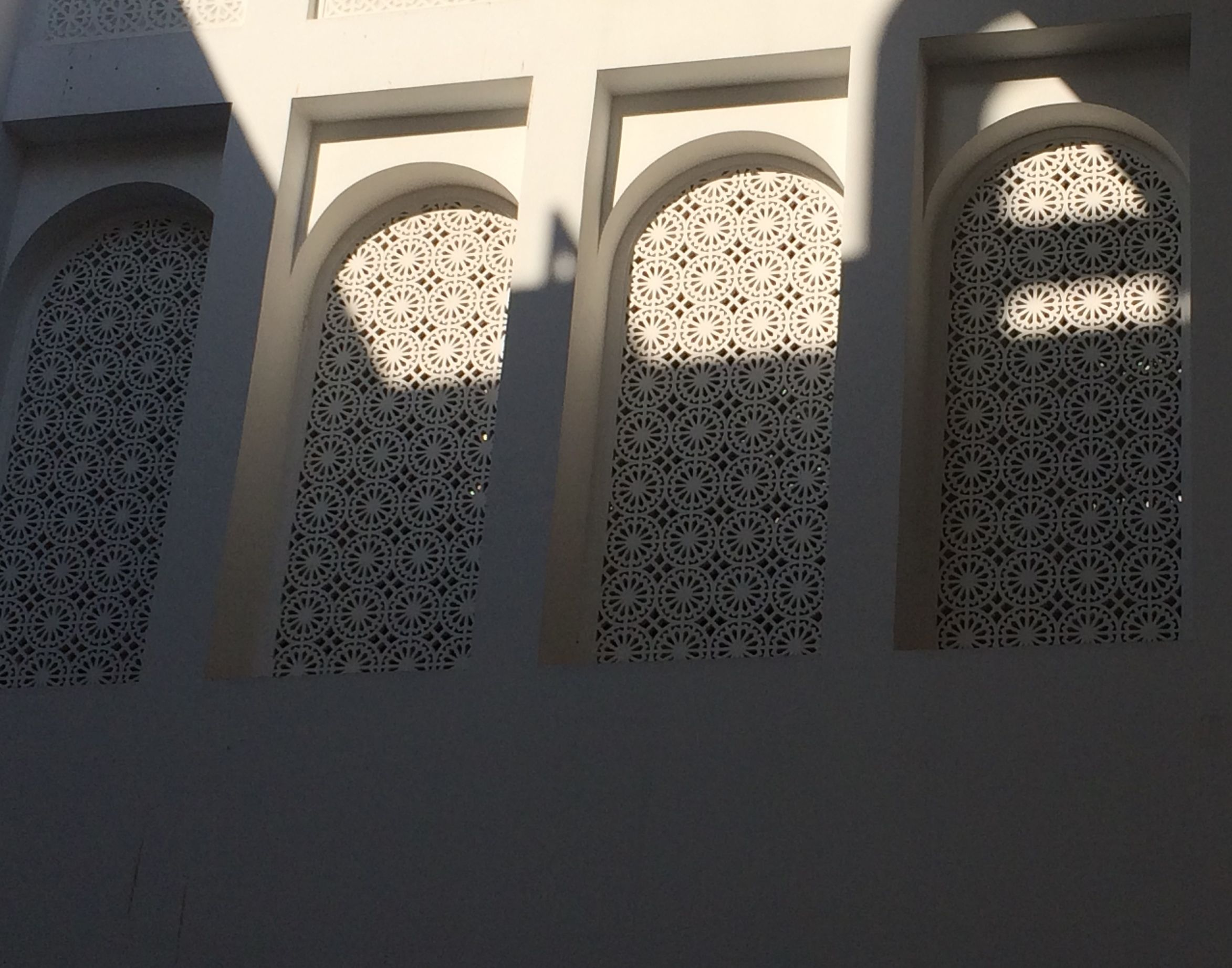 Architectural detail in the newly refurbished Manama souq