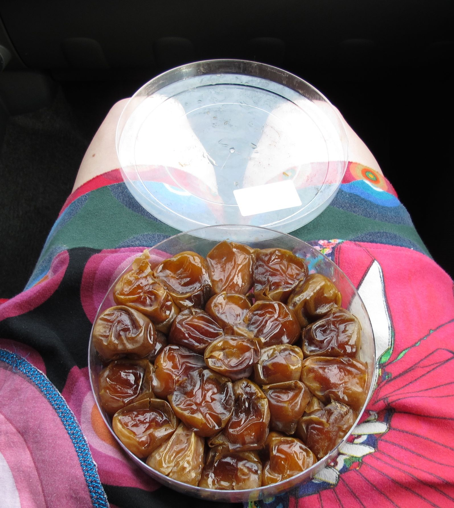 Saudi dates: the best road snack ever.